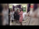 Айгүл Иманбаева тойда биді жіберді