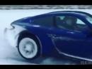 Зимние гонки на Порше -