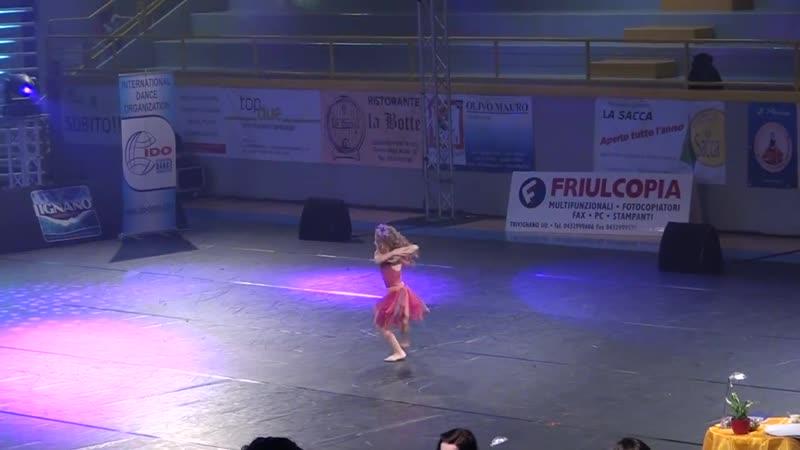 Ансамбль Акцент, танец Кубинка, Италия