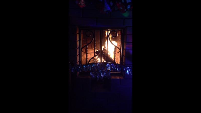 Уютный и тёплый вечер....