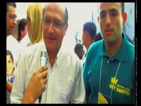 Alckmin com suposto líder do PCC