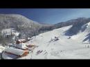 Вид с воздуха на горнолыжный 🎿🏂 курорт черногория колашин