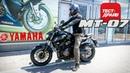 Yamaha MT-07 Dark Side 2018 / Test-Drive