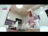 Hani making Protein Cake