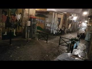 Обычный дождик в Неаполе)