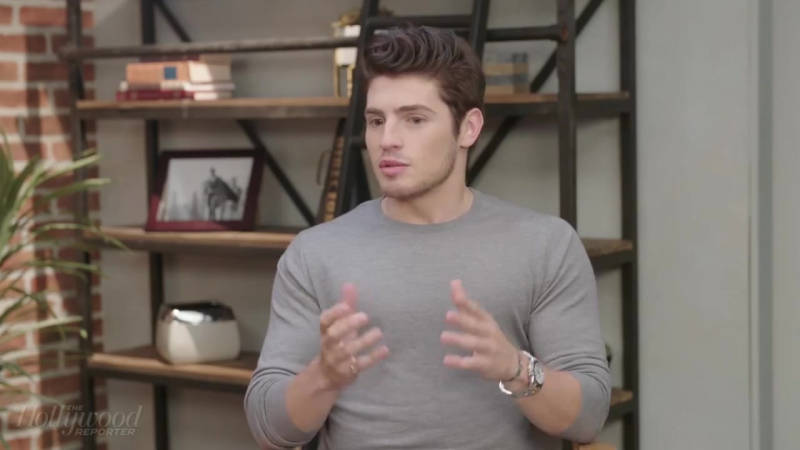 The Hollywood Reporter Gregg Sulkin is in studio talking all about Marvels Runaways [720]