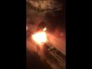 В подмосковном Звенигороде сгорели автомобили