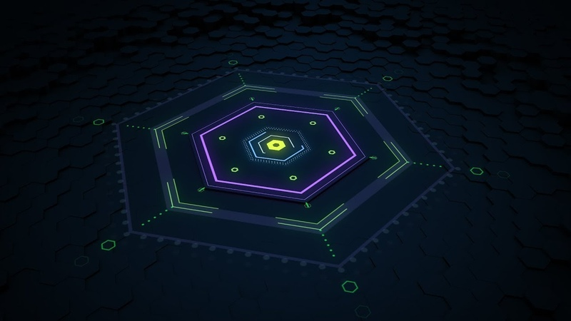 CINEMA 4D AND AFTER EFFECTS TUTORIAL: 3D motion graphics hexagon floor animation (2018)