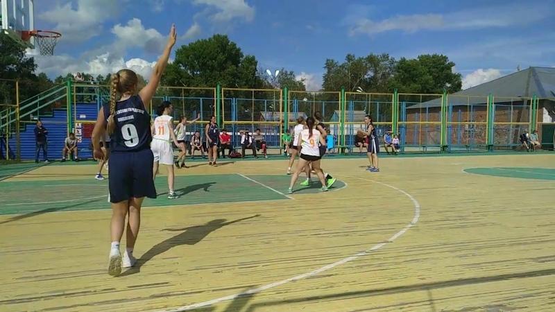 Сельские игры Колпашево 2018 - Баскетбол Новоселово - Тогур 2