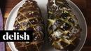 Eggplant Pull-Apart Garlic Bread   Delish