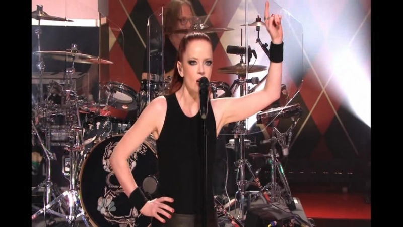 GARBAGE (The Tonight Show with Jay Leno) (20121207)