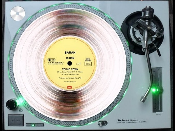 SARAH - TOKYO TOWN (EXTENDED GEISHA-MIX) [DIFFERENT ENDED] (℗1986 / ©2014)