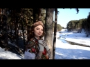 Фотосессия девушка в сказочном платке