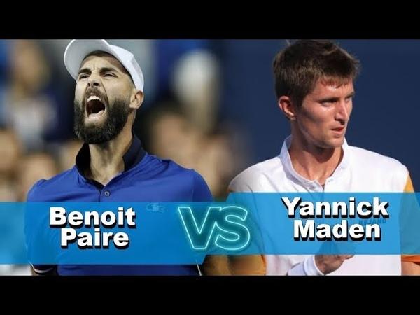 Benoit Paire vs Yannick Maden Highlights METZ 2018