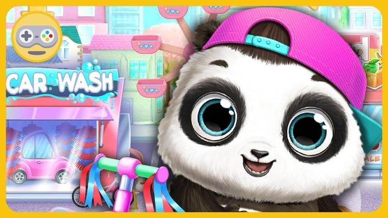 Малыш Панда Лу - Игры, веселые развлечения, баловство и заботы с маленьким мишкой Лу на Kids PlayBox