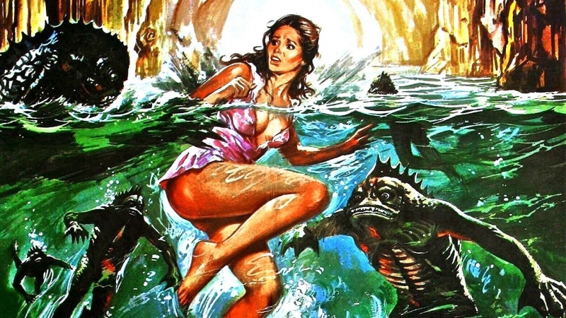 Королева амфибий Королева людей-рыб La regina degli uomini pesce (1995) 720HD