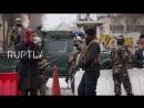 Место нападения террориста смертника ИГ в Кабуле Афганистан