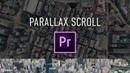 Parallax Scroll Transition Preset Adobe Premiere Pro Tutorial Chung Dha
