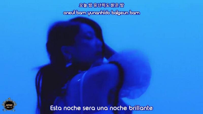 Kyungri - Blue Monn - (Sub Español | Hangul | Roma)