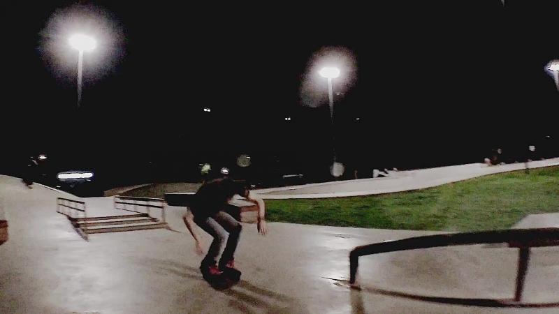 Ruslan inline skating spring