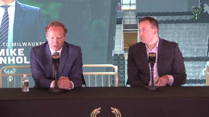 Mike Budenholzers Introductory Press Conference