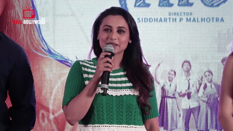 UNCUT - Oye Hichki Song Launch Hichki Movie Rani Mukerji Harshdeep Kaur