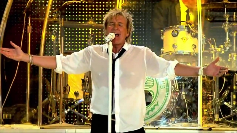 Rod Stewart - Baby Jane (Official Live Video)