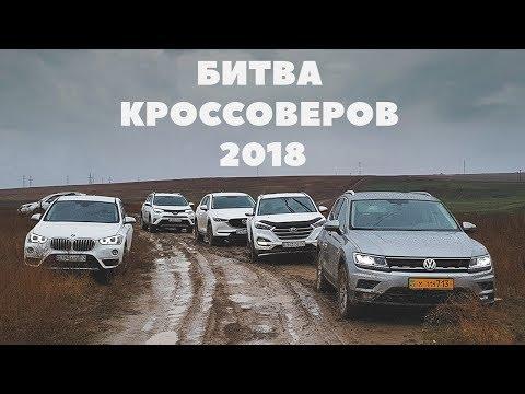 Кроссоверы 2018 BMW X1 Hyundai Tucson Mazda CX5 Toyota RAV4 Subaru Forester Volkswagen Tiguan