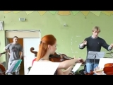 v-s.mobiРепетиция+группы+Король+и+Шут+с+симфоническим+оркестром+Глобалис+-+Фокусник