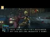 Injustice 2  - Бесплатно с 14 по 18 декабря на PS4 и Xbox One