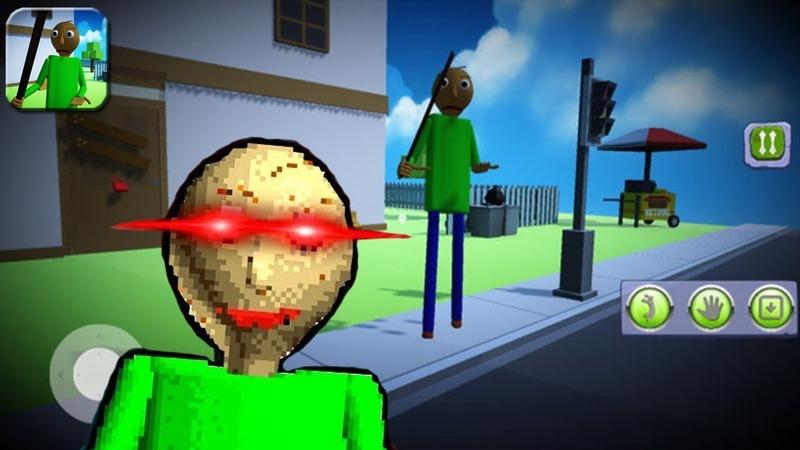 МОЙ СОСЕД БАЛДИ ► Baldi's Basics Secret House 3D