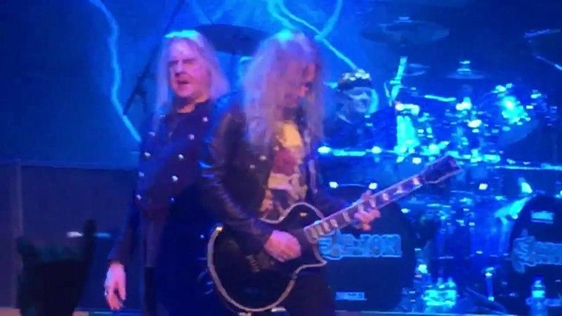 Saxon Live (Dallas 1pm) @ Veterans Memorial Collessium 4/17/18