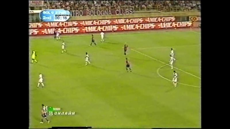 чемпионат Италии 20042005, матч за право остаться в серии A, 2-й матч, Болонья - Парма, нтв
