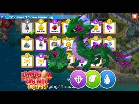 * LOL * NEW EVENT GREEN THUMB DAYS Dragon Mania Legends part 1166 HD