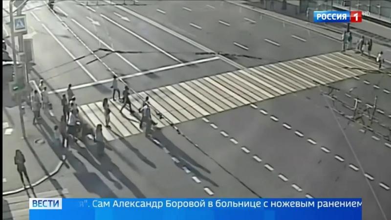 Авария. москва. 25.05.2018