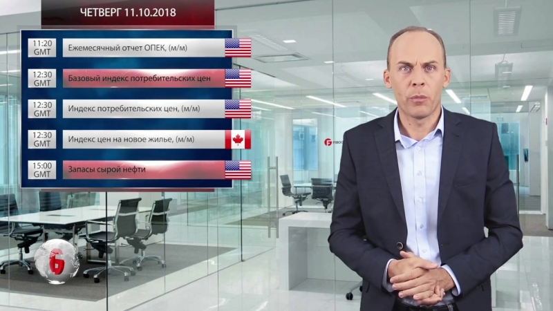Форекс аналитика с FIBO Group Прогноз на 08 10 2018 12 10 2018