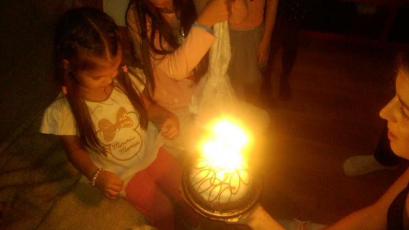 Стефания.4 года исполнилось