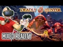 Deadly Hunter VR Gameplay in MIXED REALITY on HTC Vive Superb FPS Archery Defense VR Action