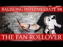 Нож бабочка Балисонг трюки флиппинг средний уровень 8 The Fan Rollover