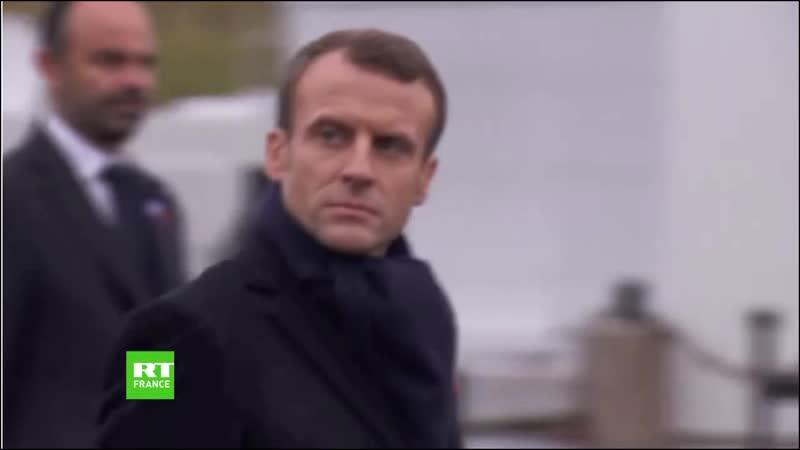 ATTENTION Mesdames et Messieurs .... Le Chef des Armées Française !!