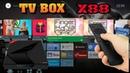 TV BOX X88 Обзор ТВ приставки с Голосовым управлением 4GB Ram 32 Rom