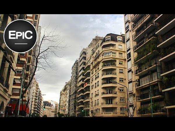 Avenida Callao / Callao Avenue - Buenos Aires, Argentina (HD)