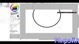 Как создать ровный круг в Paint Tool SAI - Легко!
