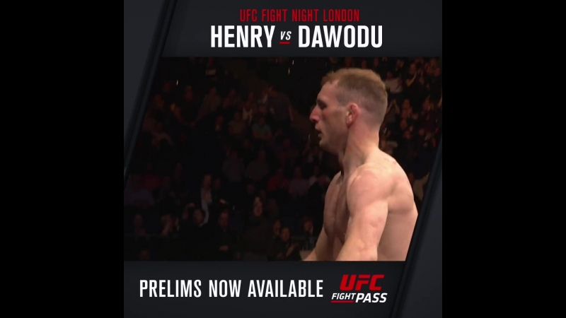 UFCLondon Danny Henry defeats Hakeem Dawodu via Submission at 0:39 of Round 1