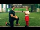 Интервью у юного футболиста Попова Артема