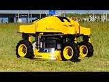 Modern Machines Agriculture Technology And Remote Control Grass Cutter #HD720p