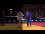TOP 10 IPPONS. Grand Slam Paris 2018. Judo Дзюдо