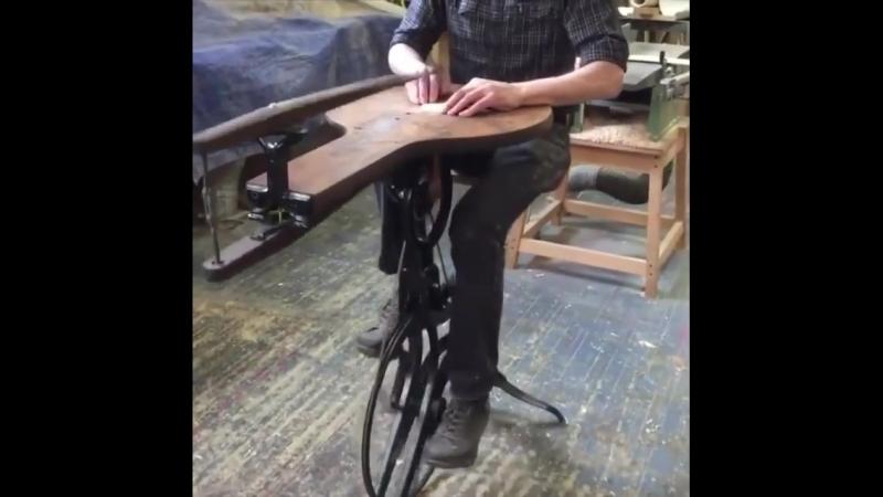 The barnes velocipede