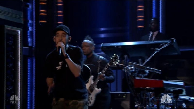 Mike Shinoda - Crossing a Line (The Tonight Show Starring Jimmy Fallon - 2018-06-19)