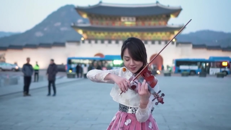 Kezia Amelia – Back in time / 시간을 거슬러 (violin cover Lin / 린)